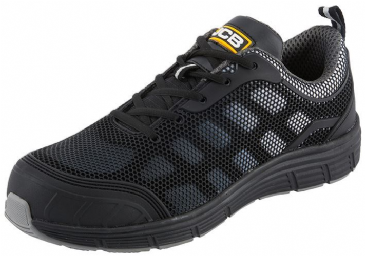 JCB CAGELOW/B Black Safety Trainer with Steel Midsole